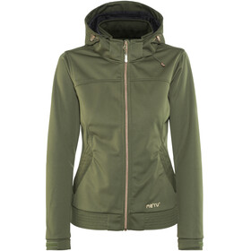 Meru W's Falun Softshell Jacket Forest Night